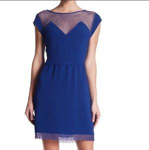 NWT The Kooples Blue Lace Dress